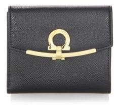 Salvatore Ferragamo French Leather Bi-Fold Wallet
