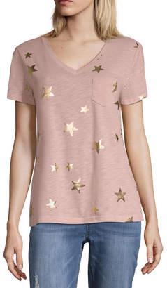 Parker PEYTON & Peyton & Short Sleeve V Neck T-Shirt
