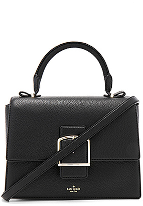 kate spade new york Heddy Satchel in Black. $398 thestylecure.com