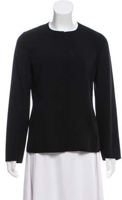 Agnona Casual Crew Neck Jacket