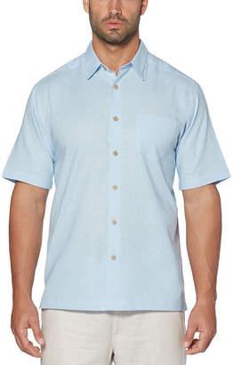 Cubavera Short Sleeve Linen Cotton Shirt