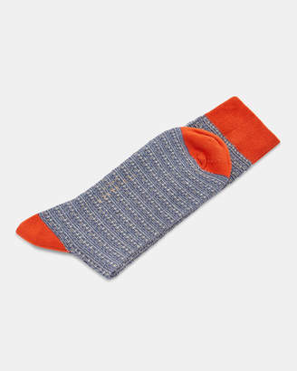 Ted Baker GROOV Grid pattern sock