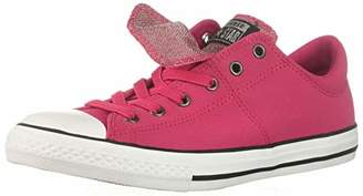 Converse Girls' Chuck Taylor All Star Maddie Glitter Leather Low Top Sneaker
