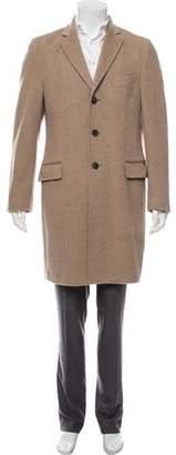 Dolce & Gabbana Cashmere Long Overcoat