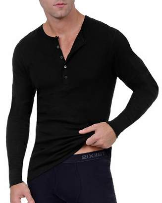 2xist Long John Henley Top