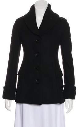 Burberry Wool Shawl Collar Jacket