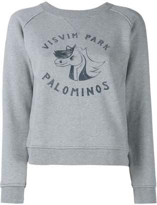 Visvim College Print Sweatshirt