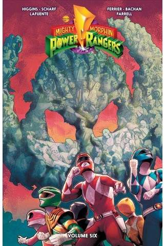 Mighty Morphin Power Rangers 6 - by Kyle Higgins & Ryan Ferrier (Paperback)