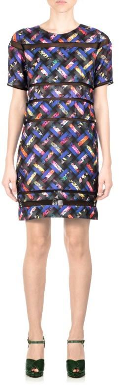 Cynthia Rowley Short Sleeve T Shirt Dress