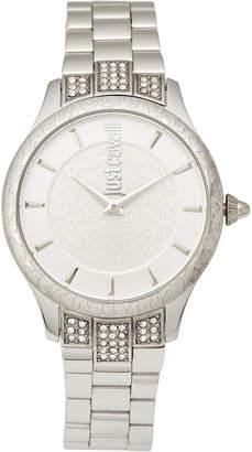 Just Cavalli JC1L004M0055 Animal Chantilly Silver-Tone Watch