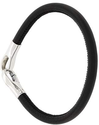 Bottega Veneta nappa leather bracelet