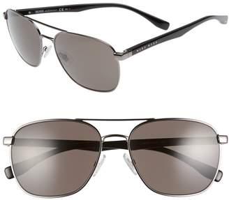 BOSS '0701/S' 57mm Aviator Sunglasses