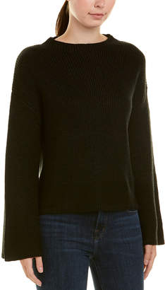 Central Park West Lurex Oversized Sweater