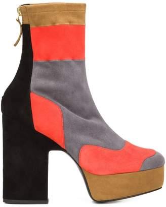 Pierre Hardy colour block boots