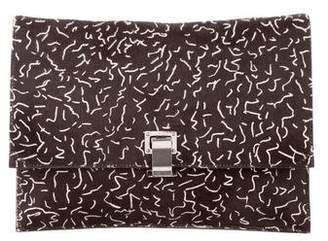 Proenza Schouler Large Ponyhair Lunch Bag