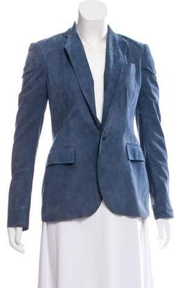 Ralph Lauren Suede Leather Blazer