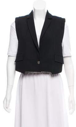 Givenchy Collared Knit Vest