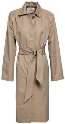 Maje Gamby Cotton-blend Gabardine Trench Coat