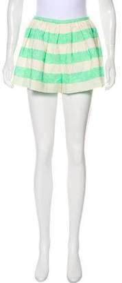 Thakoon High-Rise Brocade Shorts w/ Tags