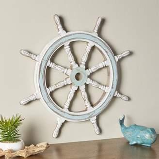 Birch Lane Decorative Wood Ship Wheel
