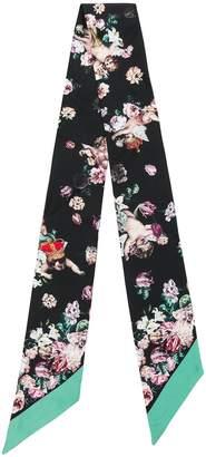 Dolce & Gabbana floral printed narrow scarf