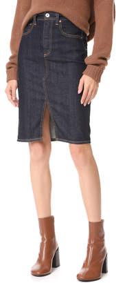 AG Jeans Emery High Waisted Pencil Skirt