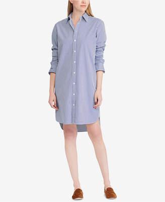Polo Ralph Lauren Monogram Cotton Shirtdress