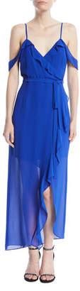 Bardot Lalia Ruffle Maxi Dress