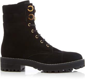 Stuart Weitzman Lexy Suede Ankle Boots