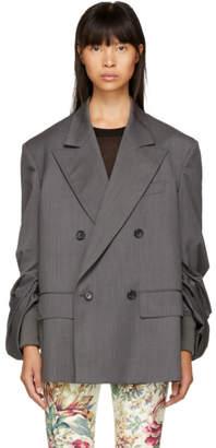 Junya Watanabe Grey Oversized Blazer