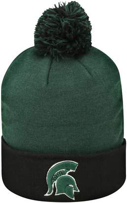Top of the World Adult Michigan State Spartans Pom Knit Hat