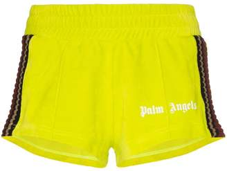 Palm Angels chenille track shorts