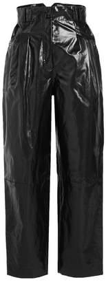 Philosophy di Lorenzo Serafini High-Waist Patent Pants