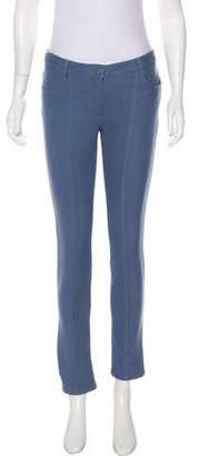 Chanel Low-Rise Skinny Pants