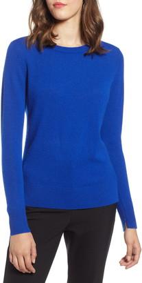 Halogen Crewneck Cashmere Sweater