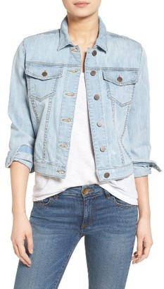 Women's Kut From The Kloth Helena Denim Jacket $79 thestylecure.com