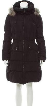 ADD Fur-Trimmed Puffer Coat