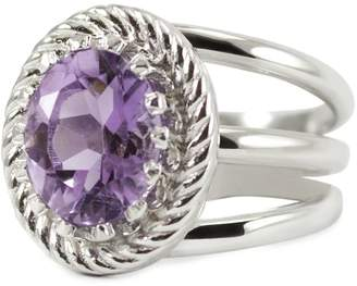 Vintouch Italy - Luccichio Amethyst Ring