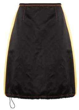 Prada Silk satin skirt