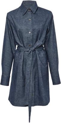 The Elder Statesman M'O Exclusive Cotton Kay Denim Shirt Dress