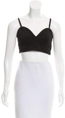 BCBGMAXAZRIA Sleeveless Crop Top