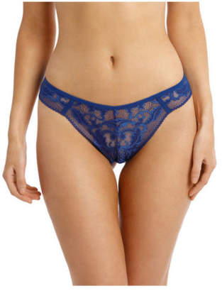 Sass & Bide NEW Something I Need G-String USBS19003 Blue