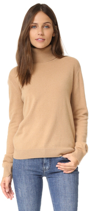 Vince Cashmere Turtleneck Sweater $320 thestylecure.com