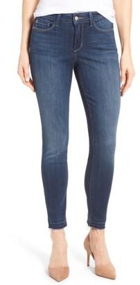 Women's Nydj Ami Release Hem Stretch Skinny Jeans $134 thestylecure.com