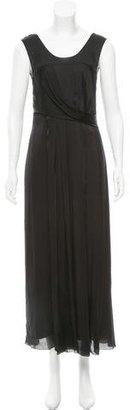 Vera Wang Silk Evening Dress $175 thestylecure.com