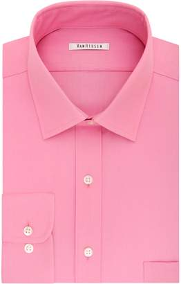 Van Heusen Men's Flex Collar Regular-Fit Pincord Dress Shirt