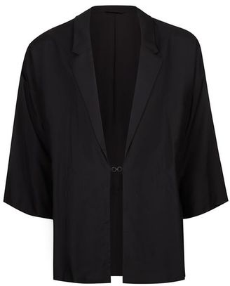 Black Lightweight Kimono $150 thestylecure.com