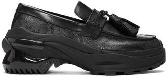 Maison Margiela Black Moccassin Loafers