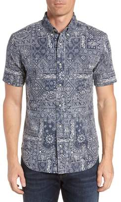 Reyn Spooner Aloha Bandana Regular Fit Sport Shirt