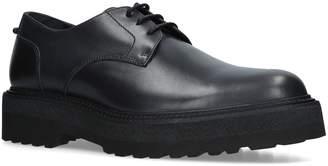 Neil Barrett Leather Punk Derby Shoes